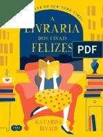 A Livraria Dos Finais Felizes - Katarina Bivald