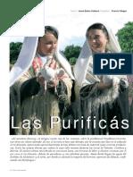 Las Purificás de Monroy en Revista UNIVERSO EXTREMEÑO nº 1/2006 p .15-17