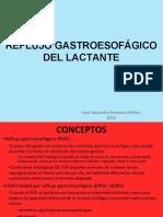 Reflujo Gastroesofagico en el lactante