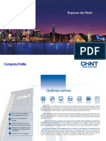 Company Profile Chint Electrics