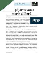 Los Pajaros Van a Morir Al Peru