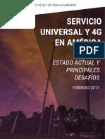 Servicio Universal y 4G en LATAM-ES
