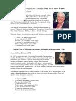 Biografias de Escritores Latinoamericanos