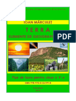 Terra - Elemente de geografie fizică. Fişe de lucru pentru clasa V-a, I. Mărculeț, Voluntari, 2018.pdf