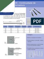 05 - Continuidade de Armadura - Luvas Prensadas.pdf