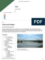 Tied Arch Bridges