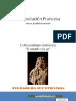 Revolución Francesa -Napoleón-Santa Alianza-Revoluciones Liberales