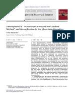'Macroscopic Composition Gradient