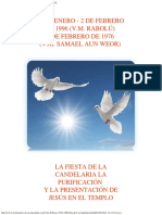 2 de Febrero 1976-1996 Día de La Candelaria