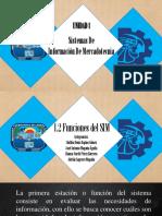 Funciones del Sistema de Información de Mercadotecnia