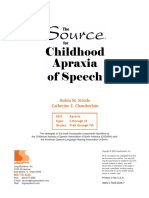 The Source for Childhood Apraxia