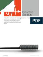 Inductive Sensors for Analog Distance Measurement