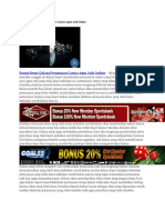 Bonus Besar Dalam Permainan Casino Agen Judi Online