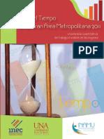 10- Principales Resultados de La Encuesta de Uso Del Tiempo de La Gam-2011