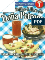 Autentico Libro de Dona Petrona, El Tomo I - Petrona C. de Gandulfo