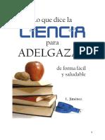 254013968 A5 Lo Que Dice La Ciencia Para Adelgazar PDF