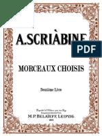 ScriabinMorceaux Vol2