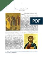 Rasa și Creștinismul Ortodox