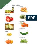 10 Verduras en Poqomam
