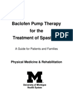 Bacl of en Pump Therapy