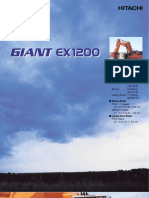 Brochure, Hitachi, EX1200-5D, DKAEX1200HT (06-05)