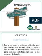 Nomeclatura Medellin