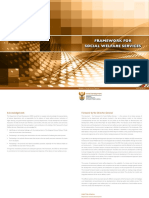 Framework for Social Welfare Services 2013