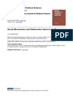 Meadris - Social Movements and Deliberative Democratic Theory