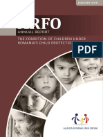 The condition of children under Romania's Child Protection System