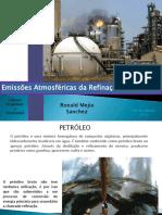 Emisiones Atmosfericas de La Refinacion de Petroleo -Trabajo Topicos