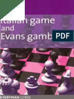 Italian Game and Evans Gambit (Everyman Chess)