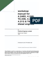 Workshop Manual Perkins 4 236
