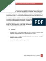 Informe Inst. de Desague