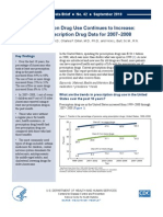 Prescription Drug Use Continues to Increase - NCHS Data Brief