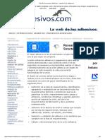 Diseño de Uniones Adhesivas - Ingenieria de Adhesivos