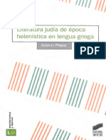 Piñero, Antonio - Literatura Judía de Época Helenística en Lengua Griega