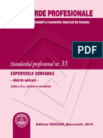 Standardul Profesional Nr. 35 2014
