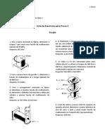 Lista 2 Mecanica Dos Materiais