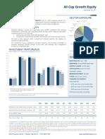 All Cap Growth Equity Fact Sheet - September 2017 - FINAL