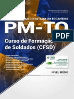 Apostila PM-To - Curso de Formação de Soldados (CFSD) (2018) - Nova Concursos