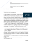 Floridi - 2014 - Technological Unemployment, Leisure Occupation, and the Human Project.pdf
