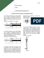 Lista 1 Mecanica Dos Materiais