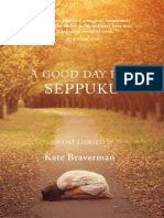 """Table of Contents and First Short Story of """"A Good Day for Seppuku"""""""