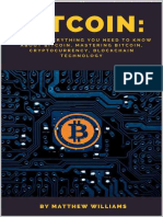 Bitcoin Guide to Everything You Need to Know About Bitcoin, Mastering Bitcoin, Cryptocurrency, Blockchain Technology