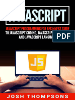 Javascript_ Javascript Programming for Beginners Guide to Javascript Coding, Javascript Programs and Javascript Language by Josh Thompsons