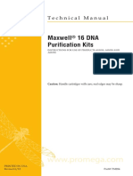 Maxwell 16 DNA Purification Kits Protocol