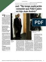 Las Últimas Noticias Gesto de Fidel Castro a Allamand