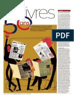 2018.02.02 Le Monde Des Livres - 50eme Aniv