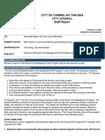 Review Beach Fire Management Pilot Program 02-06-18