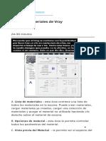 Editor de Materiales de Vray